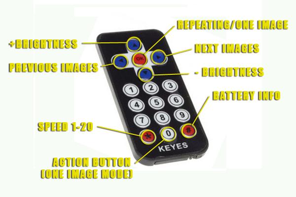 lightpainting remote
